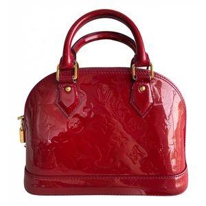Louis Vuitton Alma BB Patent leather mini bag
